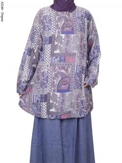 AJ290 Blus Rayon Super Jumbo Batik