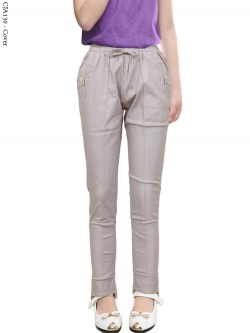 Cja130 Celana Anak Tanggung Katun Twill Stretch