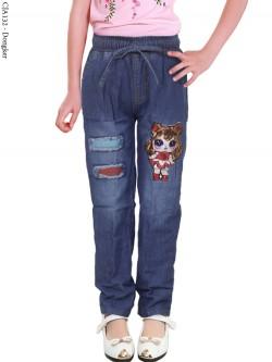 CJA132 Celana Jeans Anak LOL LED
