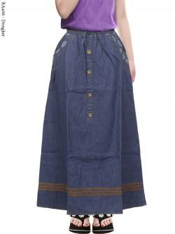 RA406 Rok Jeans Anak Tanggung 6-11th