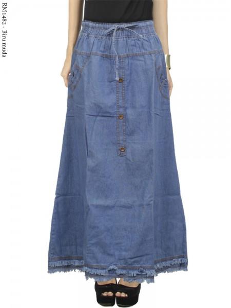 RM1482 Rok Jeans Kancing Rawis