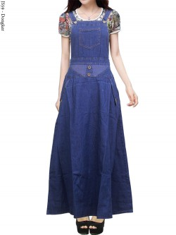 JS59 Overall Maxi Jeans Remaja