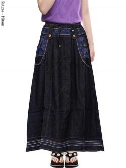 RA254 Rok Jeans Anak Tanggung 6-11th