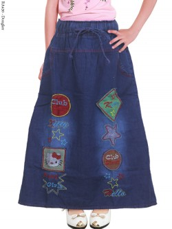 RA430 Rok Jeans AnaK Bordir Hellokitty 3-5th