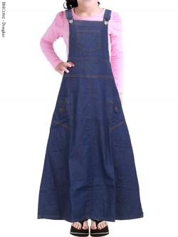 BMC1802 Overall Jeans Anak Tanggung