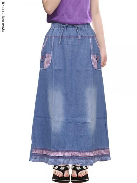 RA411 ok Jeans Anak Hias Rempel