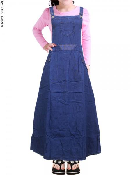 BMC1805 (22-26) Overall Jeans Anak