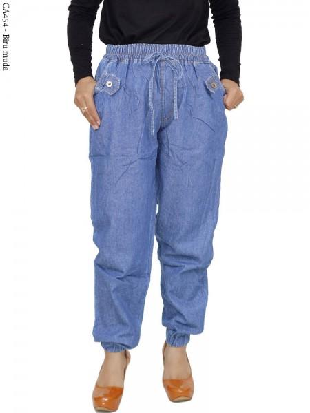 CA454 Celana Jogger Jeans Polos