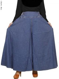 CK476 Celana Kulot Rok Jeans