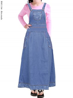 BMC1796(16-20) Overall Jeans Anak 5-8th
