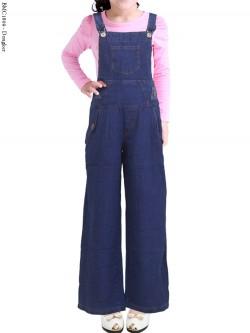 BMC1809 Overall Jeans Anak Celana Kulot