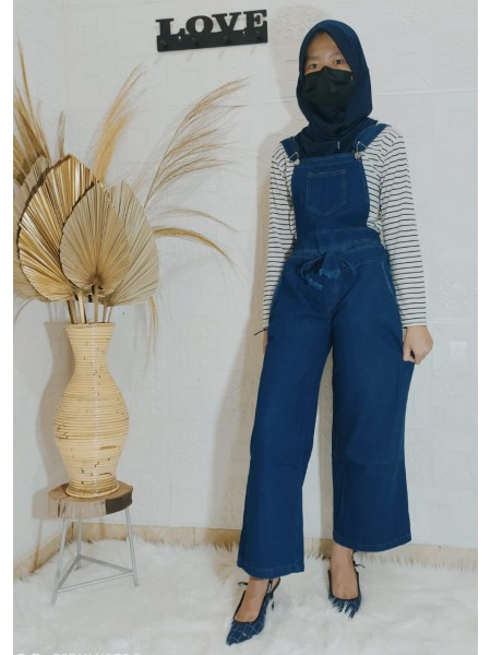JS61 Overall Kulot Jeans