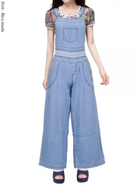 JS16 Overall Kulot Jeans