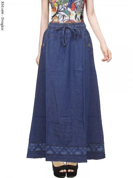 RM1466 Rok Jeans List Motif