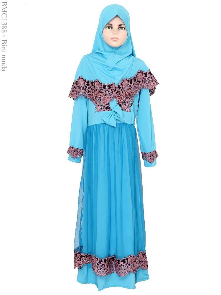 Gamis Anak Frozen Model Baju Gamis Anak Frozen Terbaru