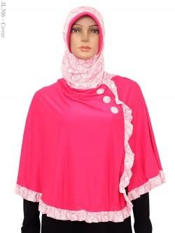 JL306 Jilbab langsung Model syar'i Batik