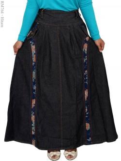 RM764 Rok Muslimah Jeans Panjang
